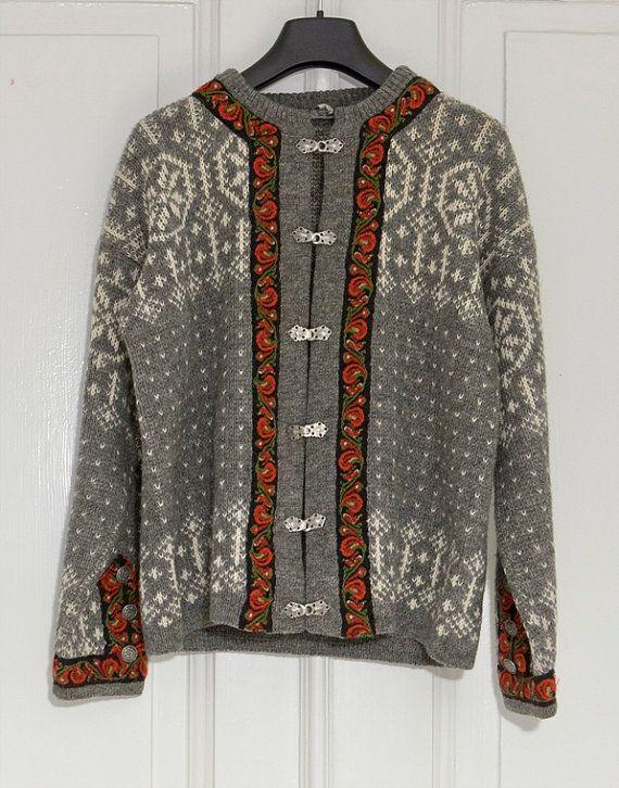 Norwegian knit sweater