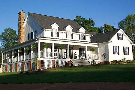 Classic Farmhouse Plans plan 32499wp: farmhouse country classic | bath, house and porch