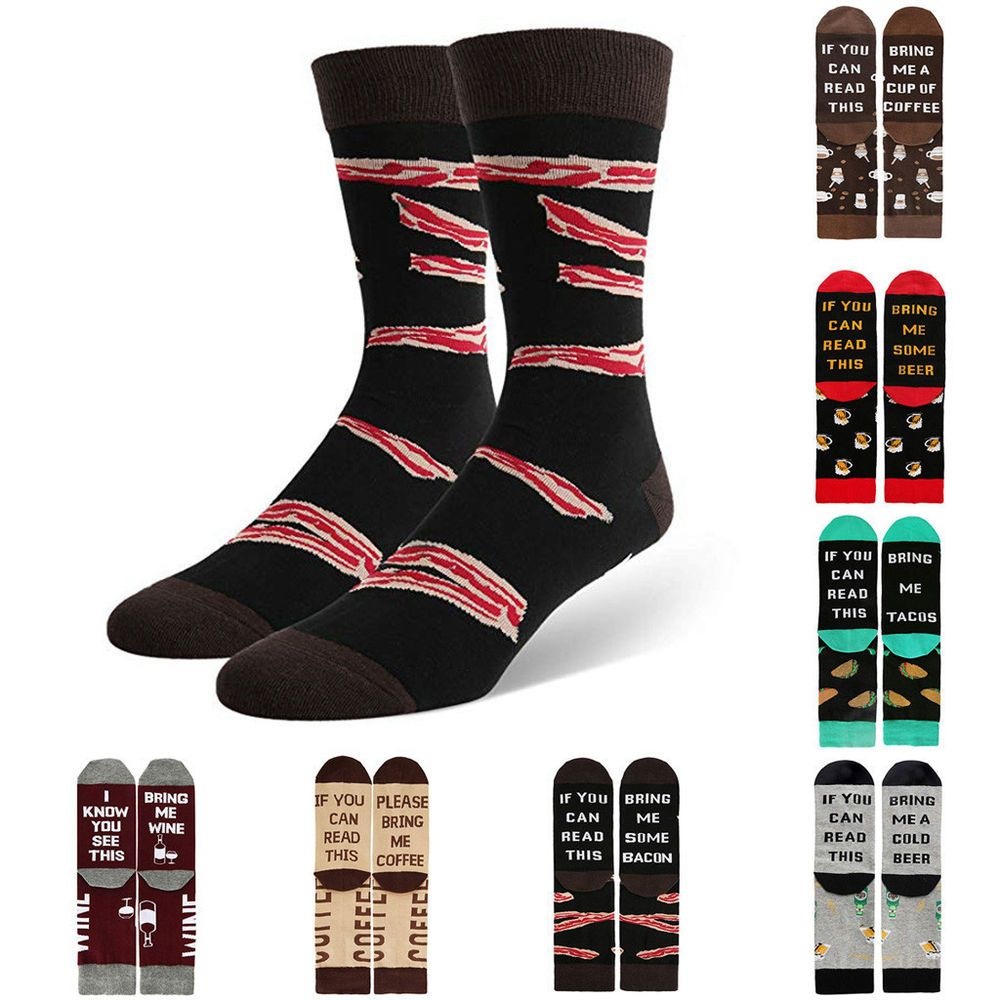Mens Womens Novelty Funny Saying Crew Socks If You Can Read This Socks Fashion 9 Fashion Clothing Shoes Acce Novelty Socks Fashion Socks Unisex Accessories