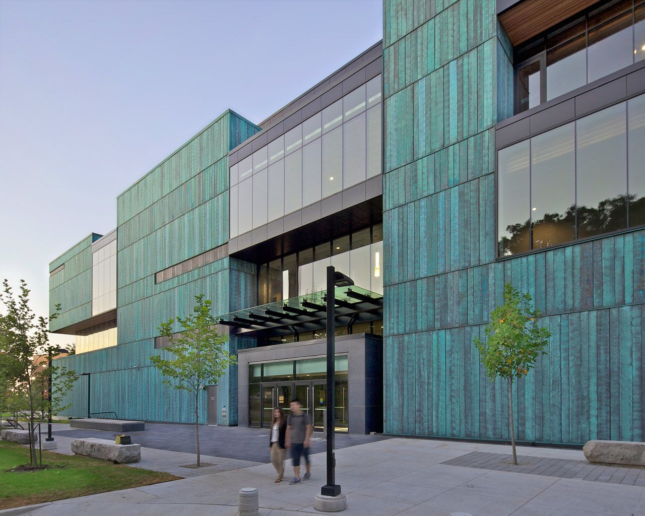 Instructional Centre At Utm By Perkins Will Copper In