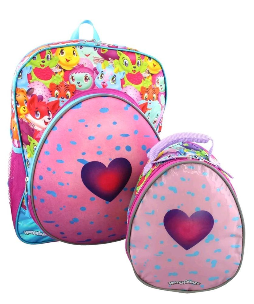 c0b047d0d Hatchimals Girls Backpack and Lunch Box School Set #AccessoryInnovations  #LunchBoxandBackpackSet