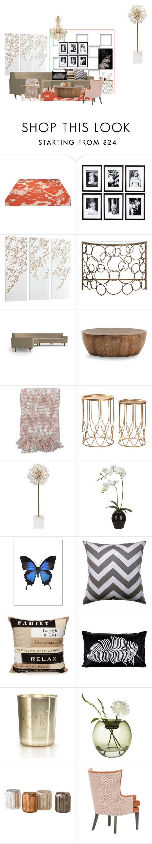 """""""stylish space"""" by lindagama on Polyvore featuring interior, interiors, interior design, home, home decor, interior decorating, ESPRIT, Eichholtz, Cyan Design and Arteriors"""