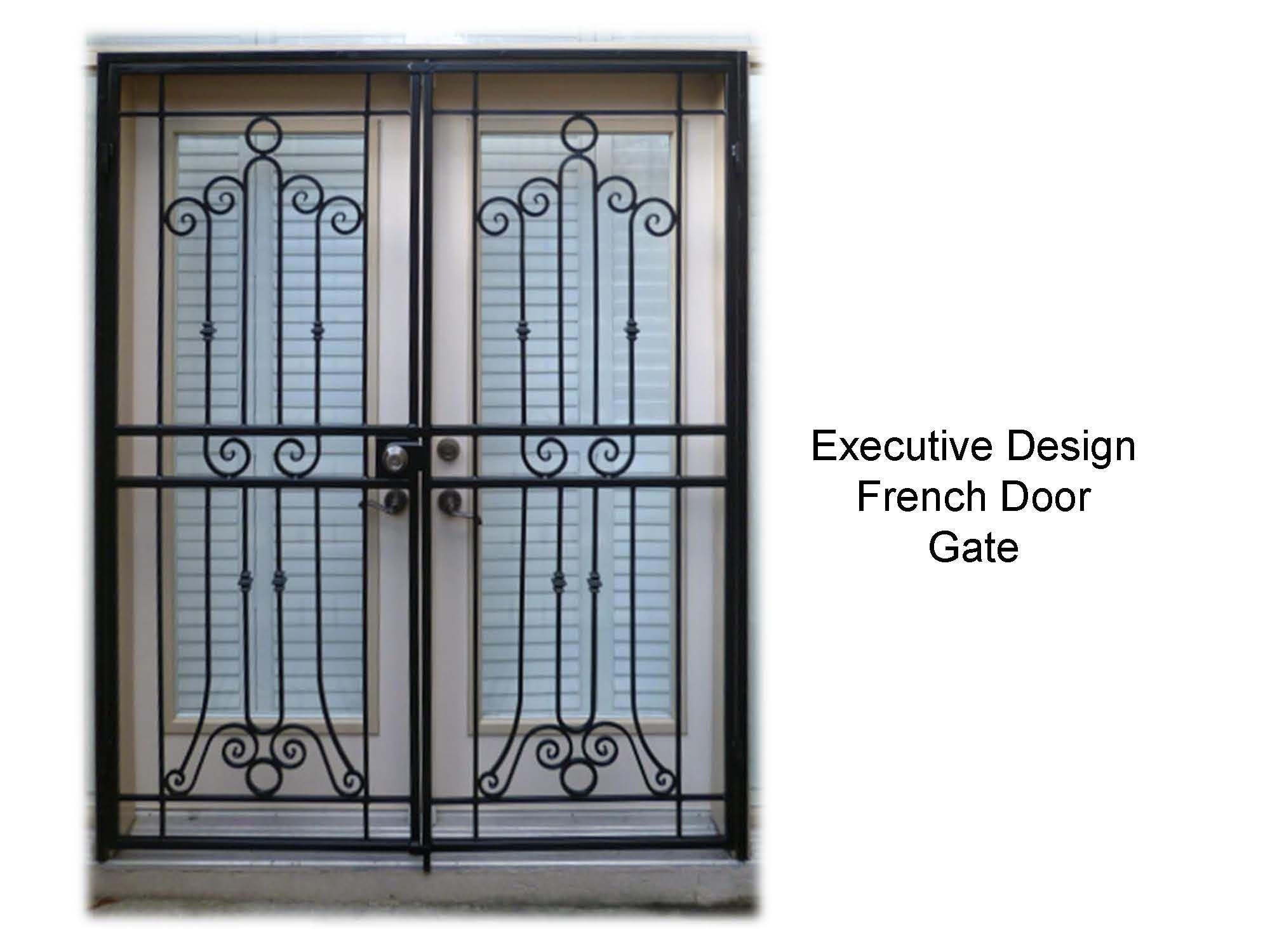 Page 30 French Door Patio Gate Metalexdoors Securitydoors