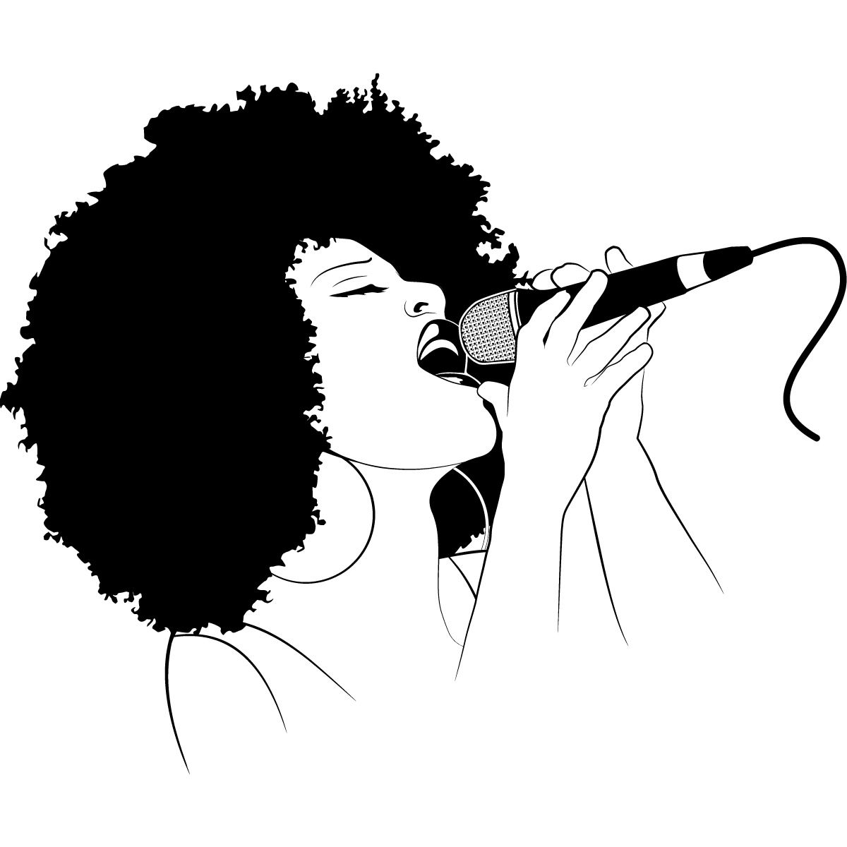 Line Art After Effects : Vote for the best female singer song ever