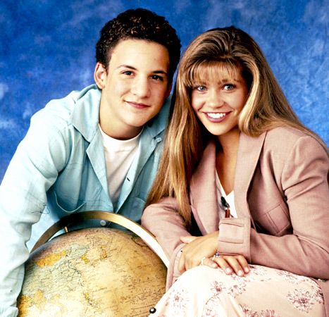 Danielle fishel talks wedding plans girl meets world and her ben savage and danielle fishel from boy meets world junglespirit Images