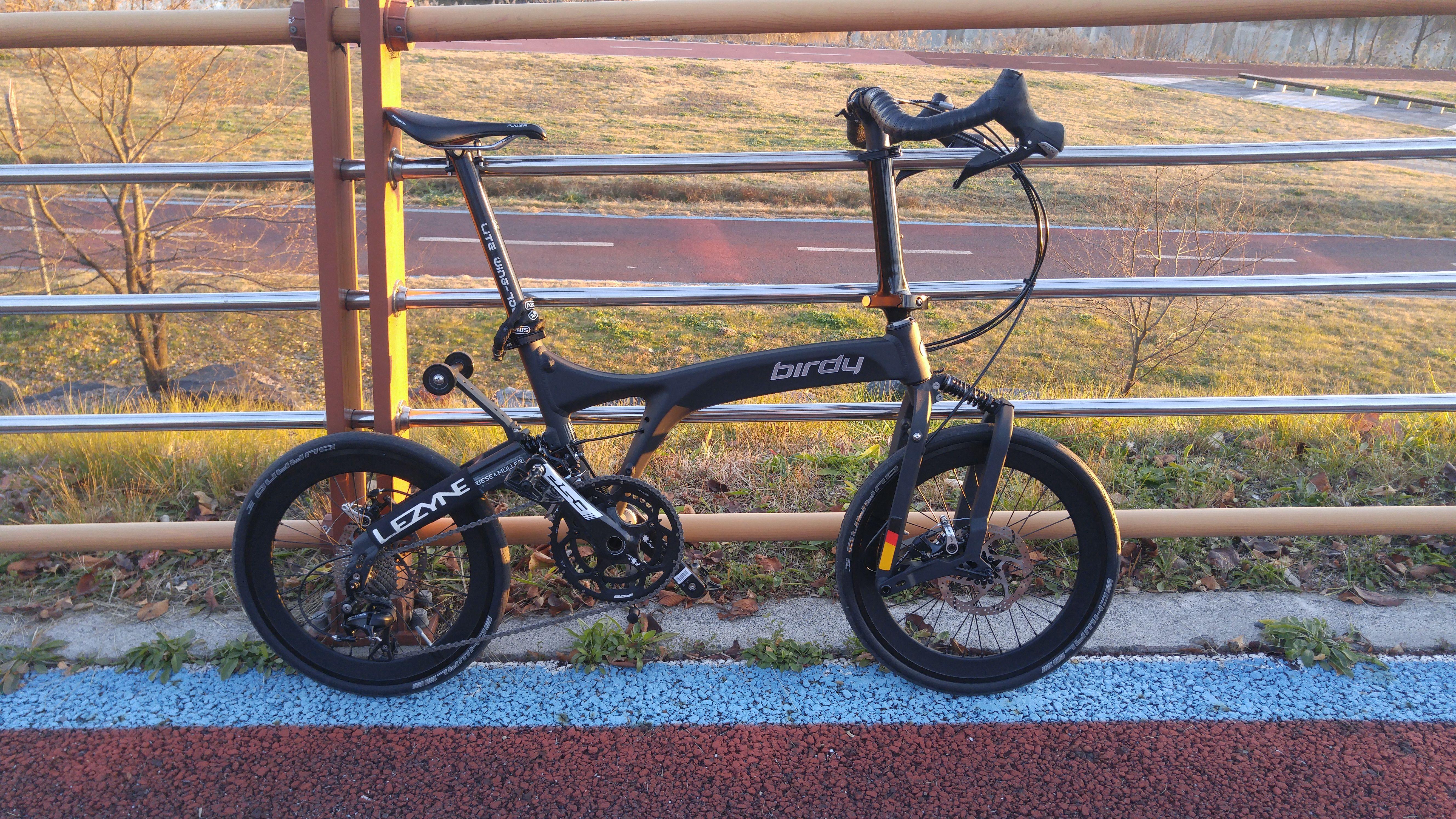 New Birdy G3 Shimano 105 11speed Bullhorn Bar Birdy Bd 1 Bike