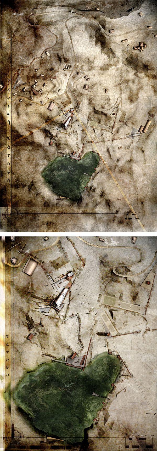 #situation http://www.greekarchitects.gr/gr/συμμετοχές-2013/13213-ανάπλαση-αποκατάσταση-ανενεργού-λατομείου-με-χωροθέτηση-χρήσεων-τουρισμού-αναψυχής-και-περιβαλλοντικής-εκπαίδευσης-id8444