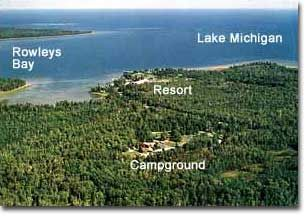 Wagon Trail Campground In Wisconsin Rents Cabins And Yurts As Well