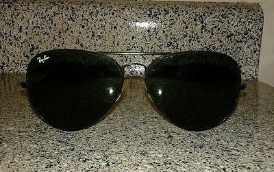 d18ed0d7c6 Ray Ban Aviator Sunglasses 62014 black metal frames