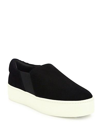 92e2547ac6a VINCE Warren Suede Platform Skate Sneakers.  vince  shoes  sneakers ...