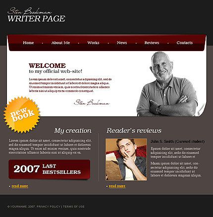 offers free website templates, free flash web templates with an ...