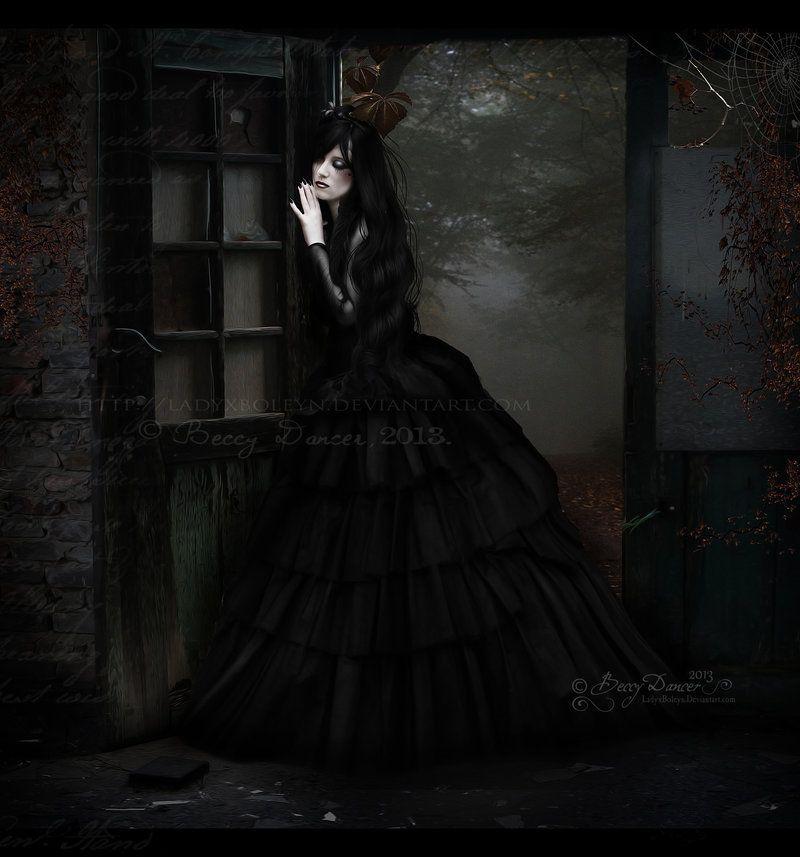 May 22nd ~ World Goth Day ~ The Other Half Of Me by LadyxBoleyn.deviantart.com on @deviantART ~ http://www.worldgothday.com