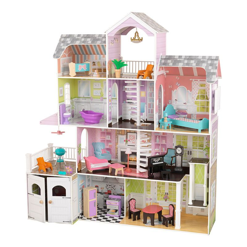 Kidkraft Grand Estate Dollhouse 26 Pieces Of Furniture 3 Years