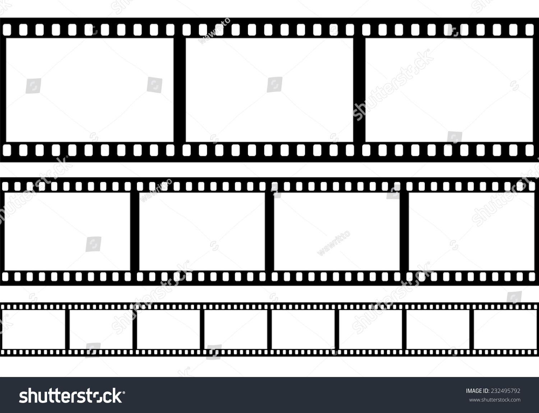 Set Of Film Frame Vector Illustration Sponsored Sponsored Film Set Frame Illustration Vector Illustration Vector Illustration