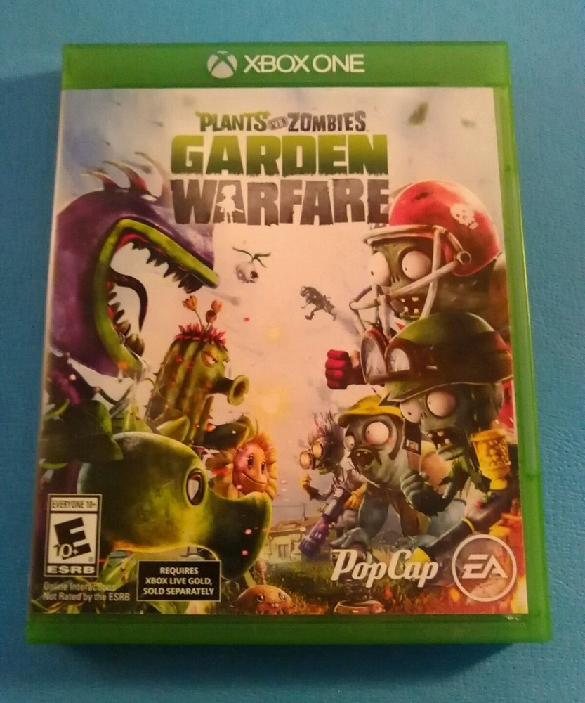 XBOX One Plants vs. Zombies Garden Warfare (Xbox One, 2014) Complete ...