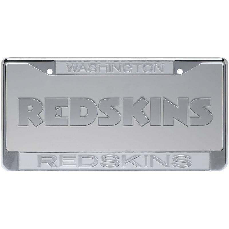Washington Redskins Frost License Plate and Frame Set   Washington ...