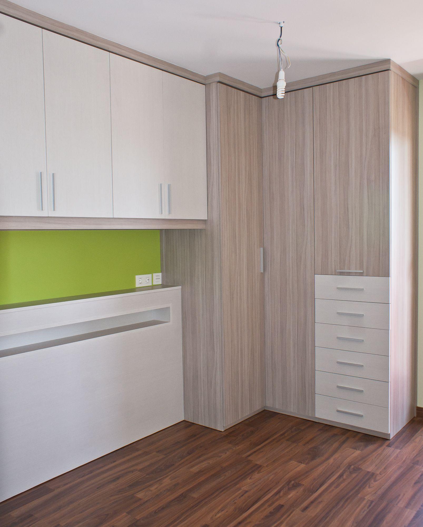 dormitorio matrimonio de diseño a medida. . web: mueblessoluciones
