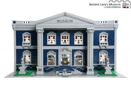 Ancient Lady's Museum: A LEGO® creation by Marcos Bessa : MOCpages.com