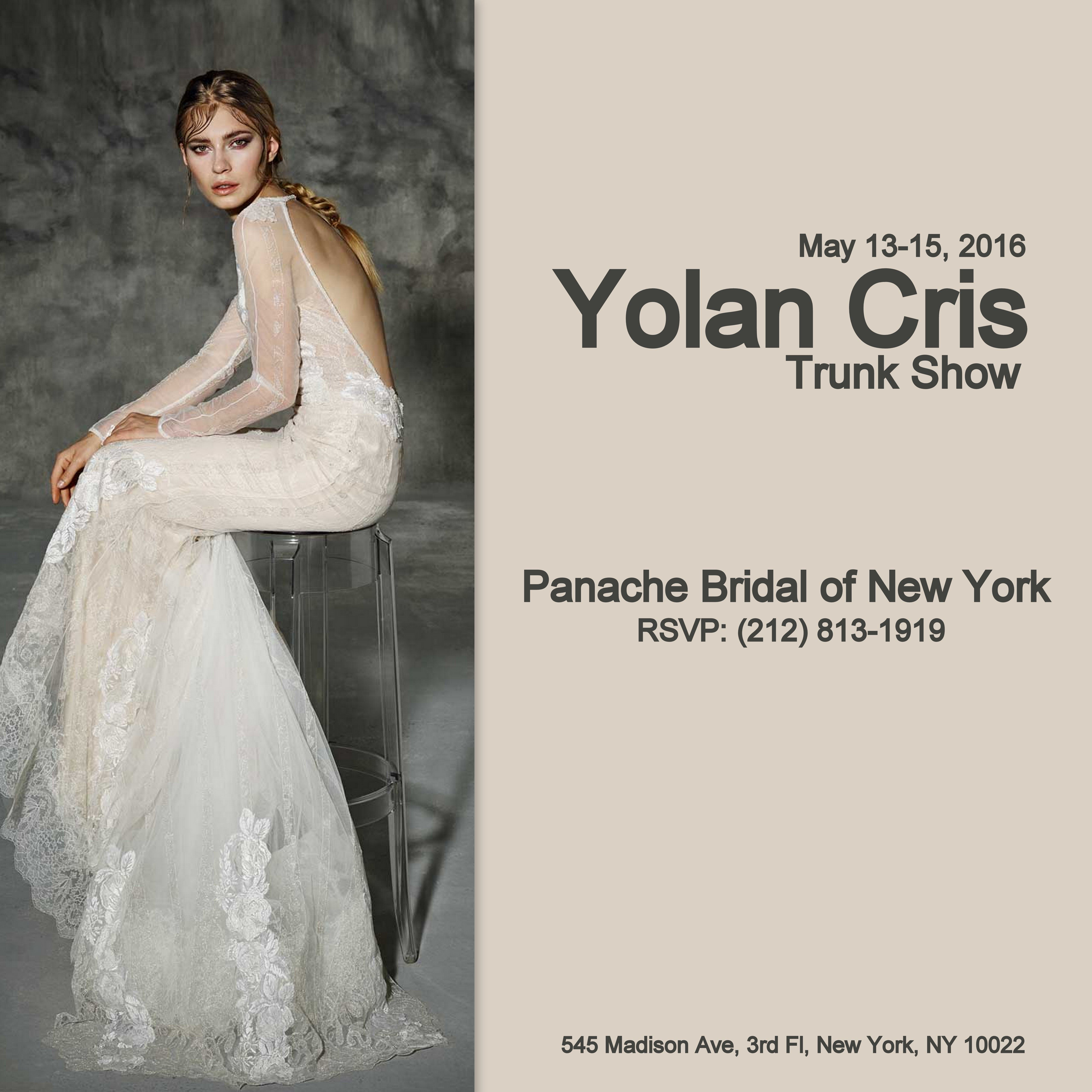 Panache Wedding Gowns: You've Invited To A Glorious Trunk Show Featuring The Boho