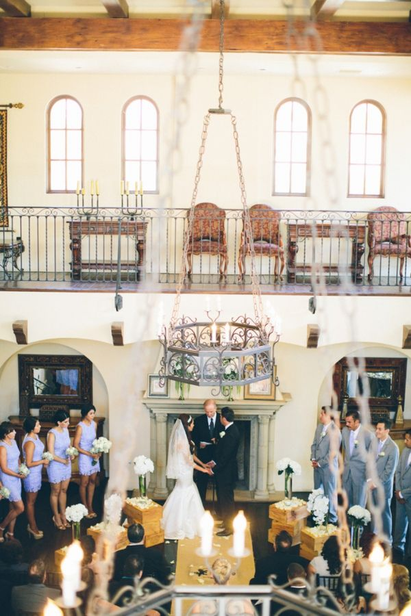 Stunning Wedding Ceremony At The Woods Club House In Chula Vista Ca Image