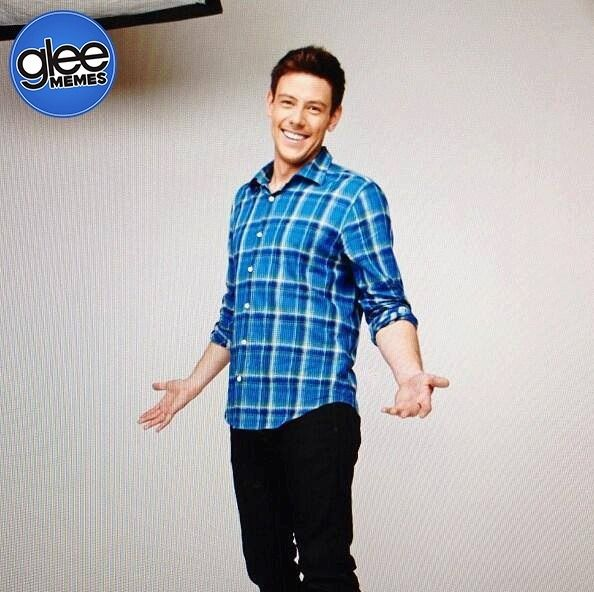 Cory's photo from the photo shoot... he looked so happy