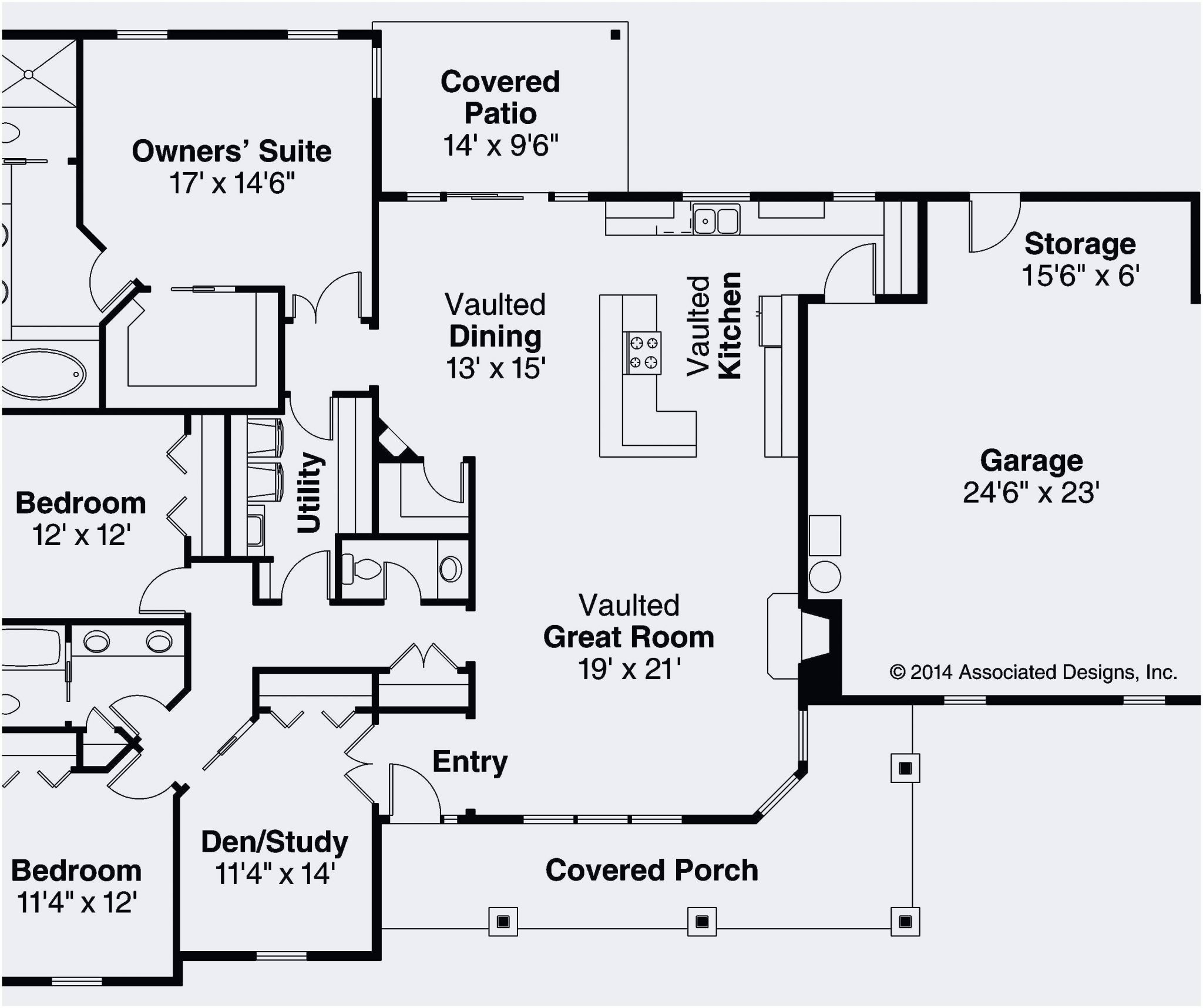 Best Of Ranch Style Homes Floor Plans Awesome Daylight Basement