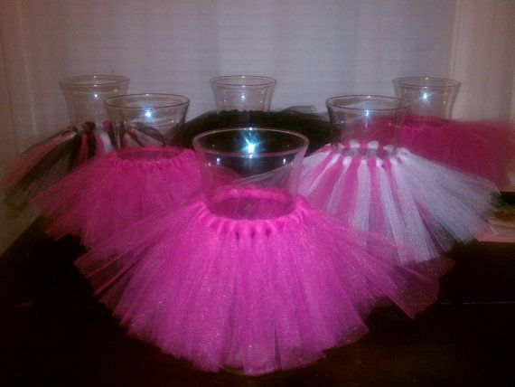 Charming Vase With Tutu Centerpiece   Google Search