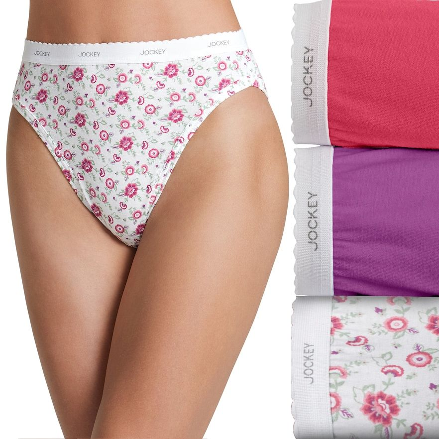4299e3a1252 Jockey Classics 3-pk. French Hi-Cut Panties 9481 in 2019