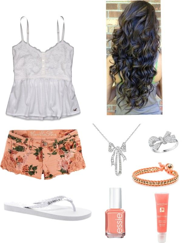 """floral"" by brendaaaa30 ❤ liked on Polyvore"