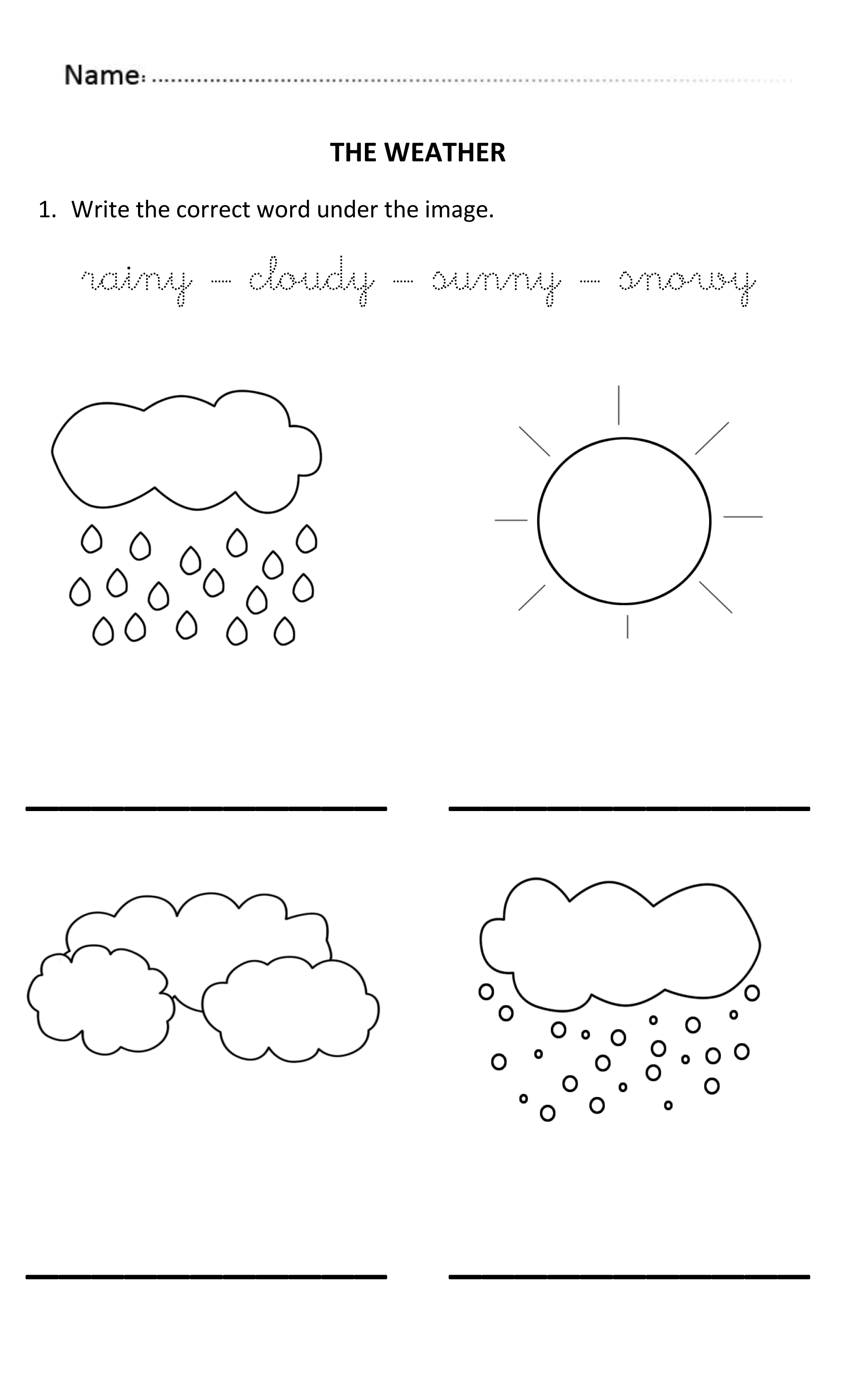 5 Year Old English Worksheet | Printable Worksheets and ...