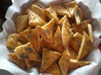 Výborné voňavé syrové trojuholníčky s kyslou smotanou
