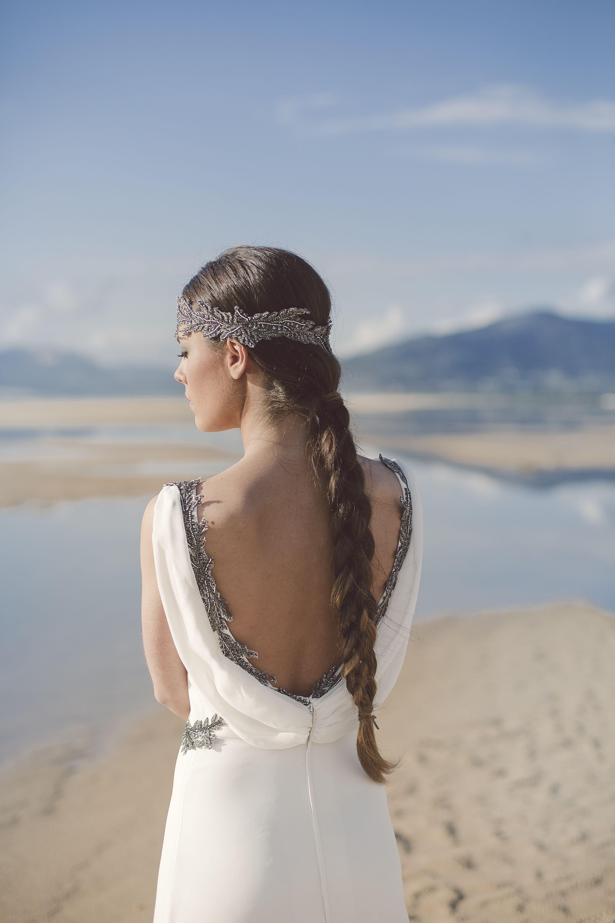 Vestido Terral. | Trajes de novia Tarifa | Pinterest | De novia ...