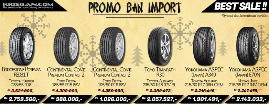 Promo Ban Import Berlanjut Loohhh Yuk Segera Di Order Untuk Mendapatkan Kenyamanan Ekstra Di Mobil Anda Yokohama Ban Mobil