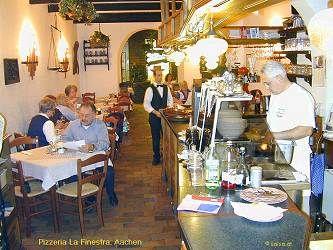 Pizzaria La Finestra Aachen, Germany Webcam