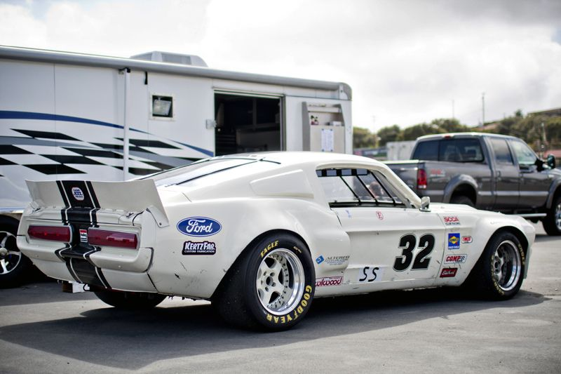 Mustang race car - me likey! & Gashetka | 1967 | Ford Mustang Shelby GT 500 | Source ... markmcfarlin.com