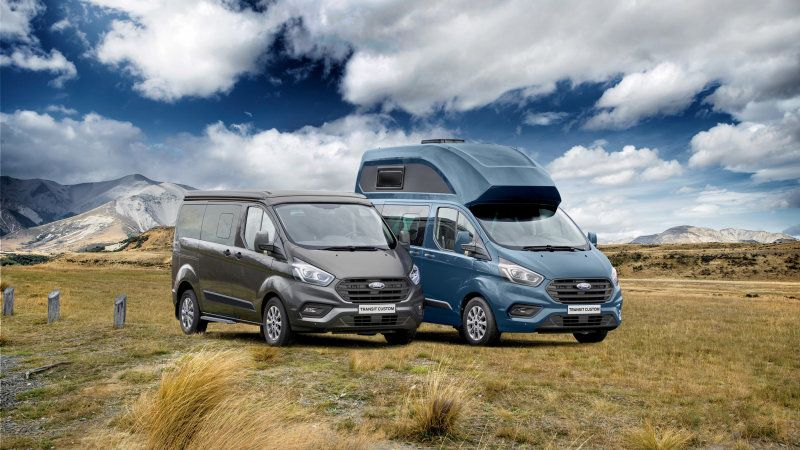 Ford Introduces Transit Custom Nugget Camper Van Ford Transit