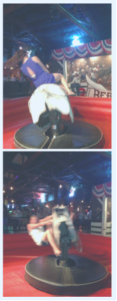 There was some bull riding and two stepping involved...