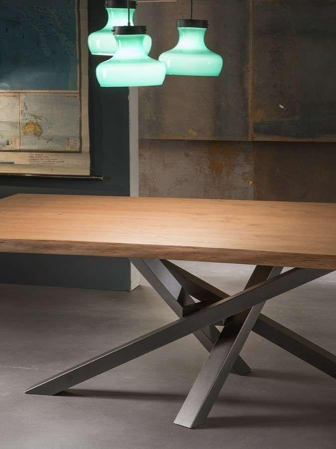 Riflessi tavolo Shangai - Piano in legno | Tables, Metals and Metal ...