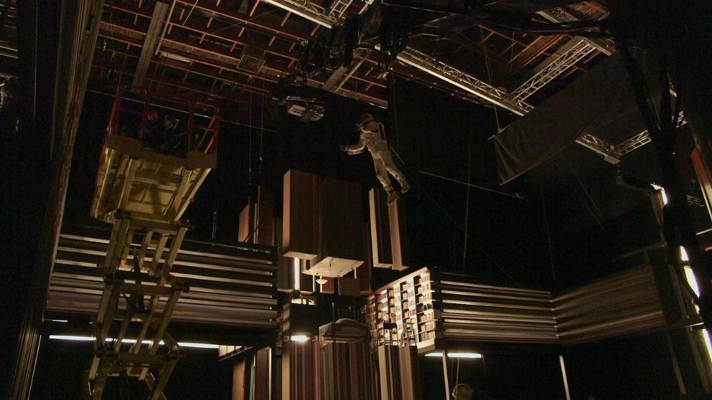 The Visually Stunning Tesseract Scene In Interstellar Was Filmed