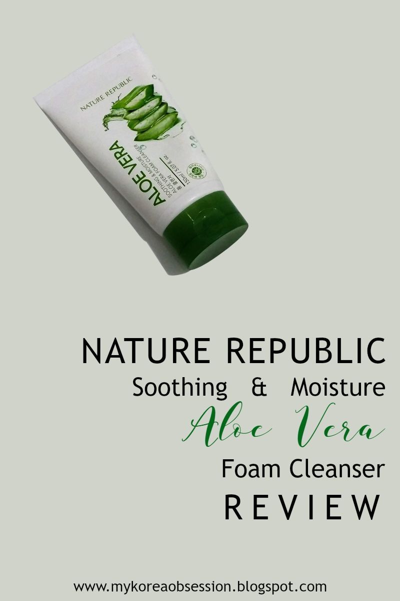 Im A Huge Fan Of Nature Republics 92 Aloe Vera Soothing Gel Who Republic Foam Cleanser Isnt So I Was Tempted To Try Another Product From The Same Line Is This As