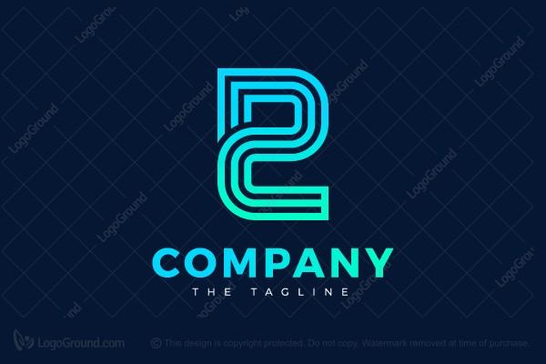 Pc Logo Typographic Logo Logos Tribal Logo