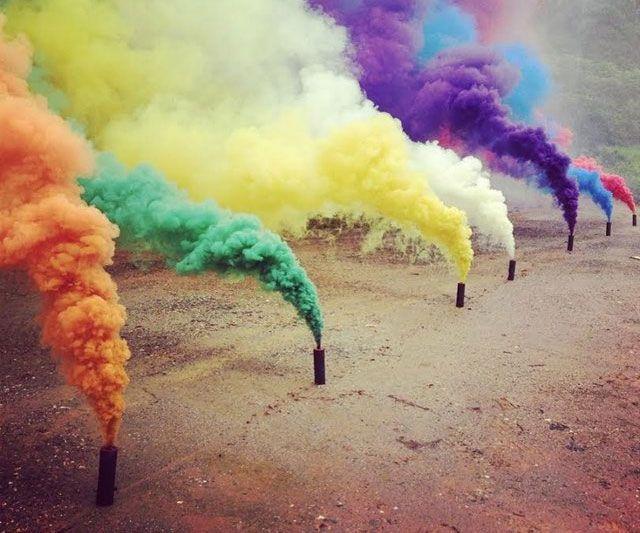 Colorful Smoke Grenades Color Smoke Stick Smoke Bomb Colored Smoke