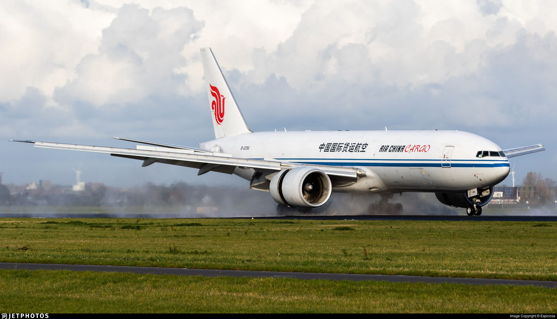 Airline Air China Cargo Registration B2096 Aircraft