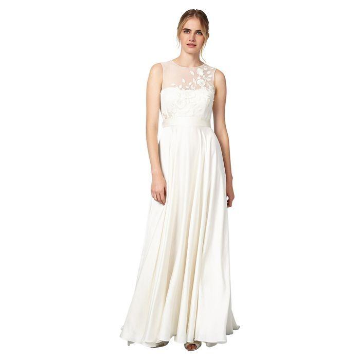 3703516fd77 Phase Eight Cream Clarabella Wedding Dress