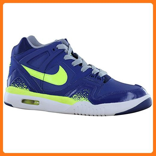 Nike Air Tech Challenge 2 Blue White Youths Trainers Size 6 UK / 39 EU