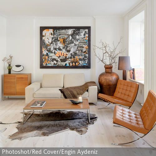 Kamelfarbene  - wohnideen wohnzimmer moderne