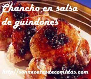 Chancho en salsa de guindones – Recetas de Cocinas
