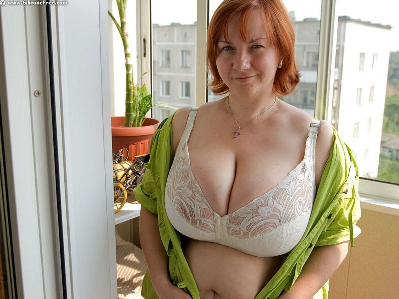 Remarkable, this Redhead big tits open shirt