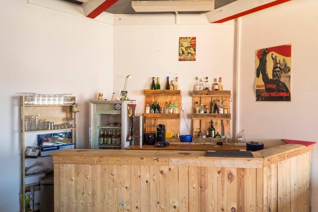 DIY Bar Aus Paletten. #DIY #Bar #Regal #Paletten #Palettenregal