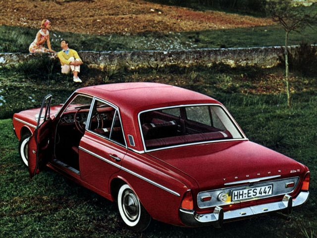 1964 67 Ford Taunus 20m Ts Sedan P5 Ford Deutschland Oldtimer